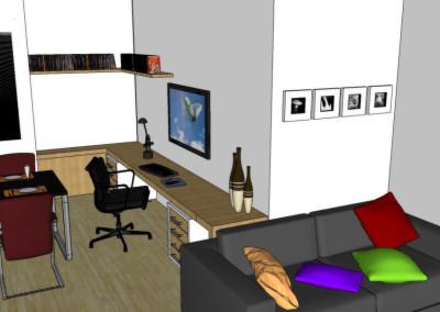 Projeto apartamento Jabaquara 02