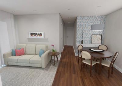 Projeto apartamento Jaguaré 01