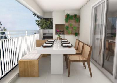 Projeto apartamento Jaguaré 02