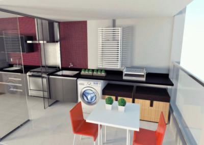 Projeto apartamento Max Haus