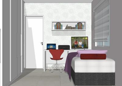 Projeto apartamento Tatuapé